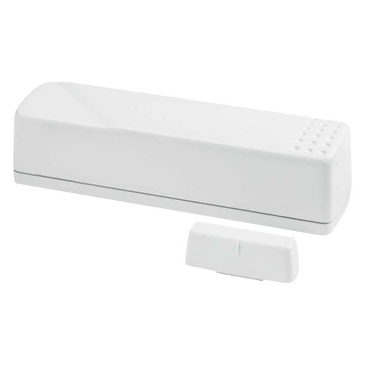 NX-667 UTC Crystal Shock Sensor White. Sensor has 3 main functions: detect the vibrations made by an intruder trying to break a window/door; detect a window/door opening; detect tamper situations. Includes internal shock detector & cover tamper