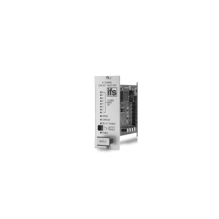 DR3030-R3 UTC 8 Channel Contact Receiver SM 1 Fiber Rack Mount