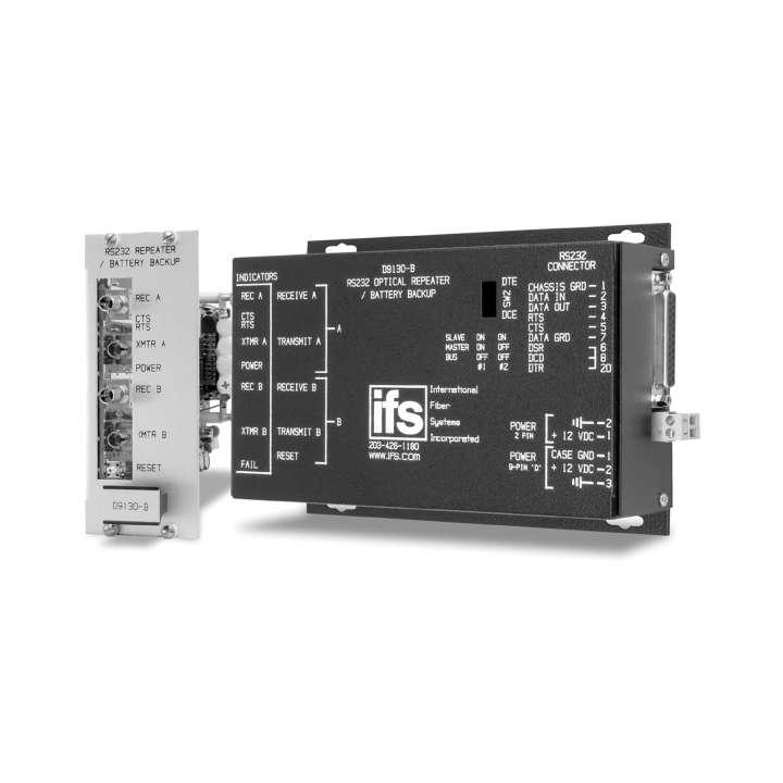D9130 UTC RS232: Data Repeater SM Laser 2 Fibers Db25