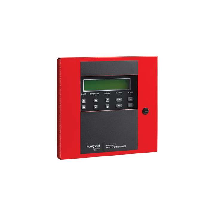 6860 SILENT KNIGHT LCD REMOTE ANNUNCIATOR (4X40) PROGRAMMABLE BUTTONS