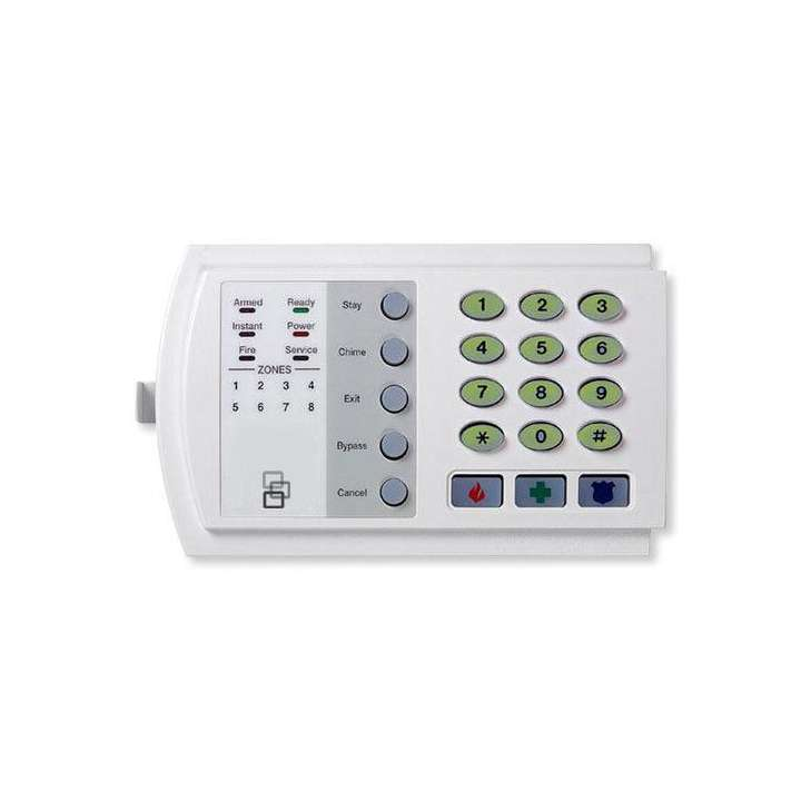 "NX-116E UTC 16-ZONE LED KEYPAD ORIGINAL DESIGH. 6.5"" W X 4.0"" H X 1.3"" D, WHITE ************************* SPECIAL ORDER ITEM NO RETURNS OR SUBJECT TO RESTOCK FEE *************************"