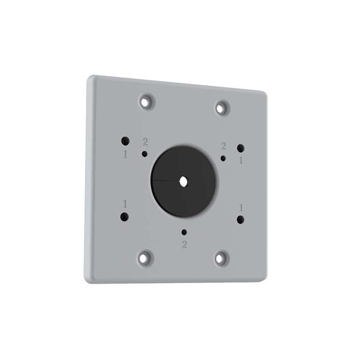 TVB-2G-AD UTC TruVision Double Gang Box Adapter Plate (for fixed lens bullet or LWB wall mount)