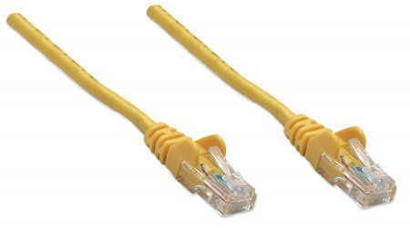 347341 INTELLINET .5 ft., Yellow, Cat5e UTP Cable