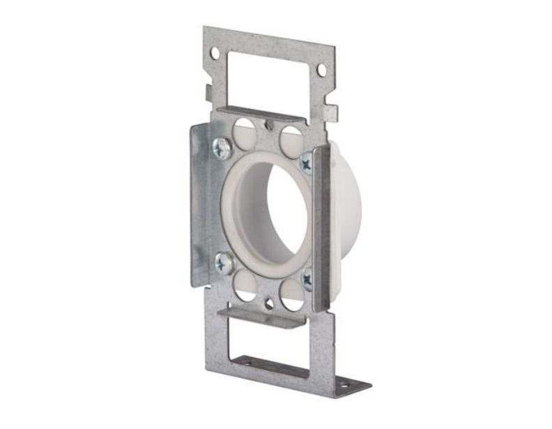 CF361F NUTONE MOUNT PLATE W/FLANGED SPIGOT, FOR ANY CF382 SERIES ELBOW ************************* SPECIAL ORDER ITEM NO RETURNS OR SUBJECT TO RESTOCK FEE *************************