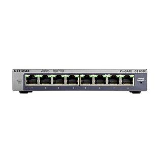 GS108E-300NAS NETGEAR 8PT GIGABIT PLUS SWITCH