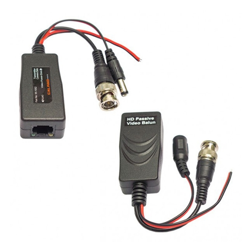 95-1053 CALRAD POWER & VIDEO PASSIVE VIDEO BALUN. HD-TVI, HD-CVI, ANALOG (SOLD IN PAIRS)