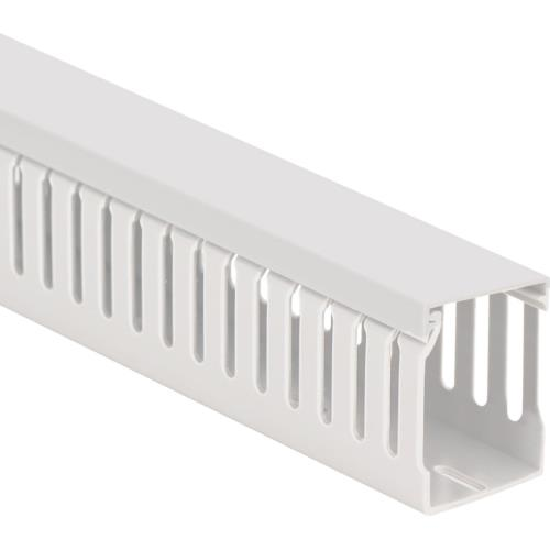 "ICRWL226WH ICC SLOTTED WALL DUCT 2""X2"" 6'PCS ************************* SPECIAL ORDER ITEM NO RETURNS OR SUBJECT TO RESTOCK FEE *************************"