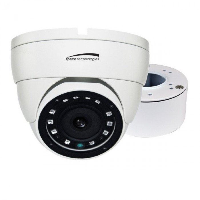 VLDT4W SPECO HD-TVI 2MP Eyeball Camera, 3.6mm Lens, White Housing