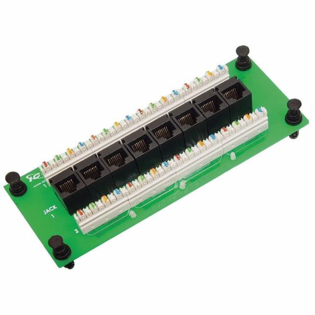 ICRESDPB3C ICC COMPACT MODULE, CAT 6 DATA, 8-PORT ************************* SPECIAL ORDER ITEM NO RETURNS OR SUBJECT TO RESTOCK FEE *************************