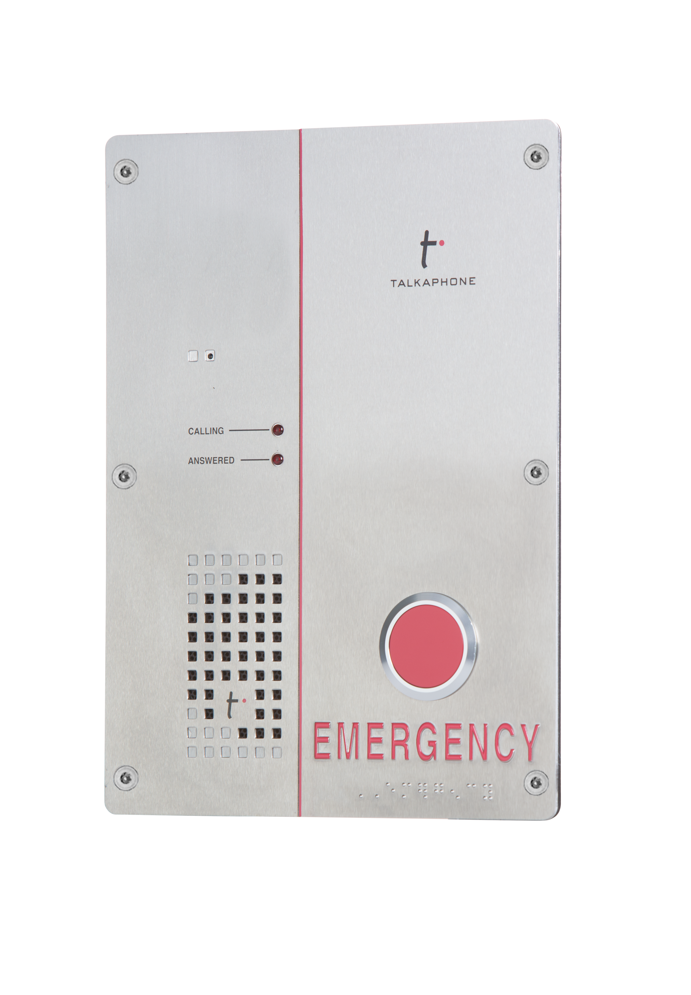 VOIP-500E TALK A PHONE NATIVE VOIP OUTDOOR EMERGENCY PHONE ************************** CLEARANCE ITEM- NO RETURNS *****ALL SALES FINAL****** **************************