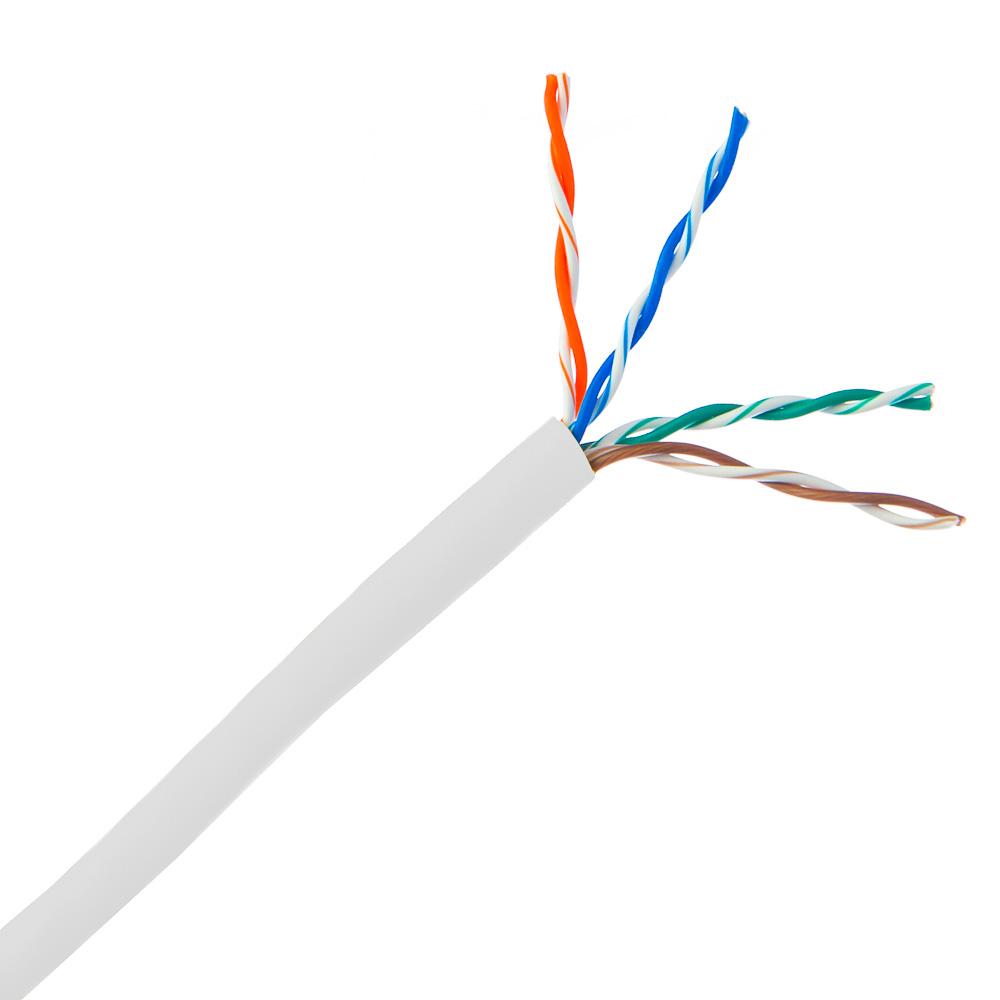 6BNSM2W REMEE White CAT6 CMP Unshielded Plenum no Spline 1000'