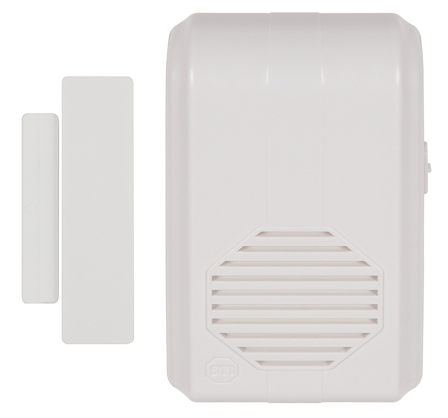 STI-3360 STI WIRELESS ENTRY ALERT CHIME W/RECIVER ************************** CLEARANCE ITEM- NO RETURNS *****ALL SALES FINAL****** **************************