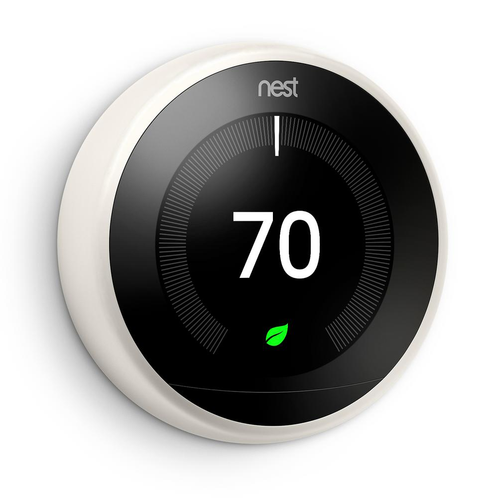 T3017US NEST LEARNING THERMOSTAT 3RD GENERATION WHITE ************************* SPECIAL ORDER ITEM NO RETURNS OR SUBJECT TO RESTOCK FEE *************************