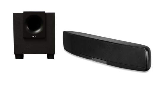 NVP500NA NUVO SOUNDBAR AND SUB COMBO