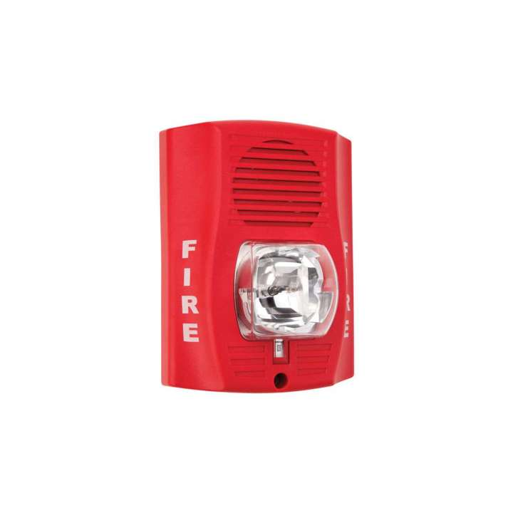 """EDEG1RT-FIRE EDWARDS TRIM PLATE FOR WALL MT. HORN/STROBES, 1-GANG TO 4"""" BOX, MARKED """"FIRE"""", RED ************************* SPECIAL ORDER ITEM NO RETURNS OR SUBJECT TO RESTOCK FEE *************************"""