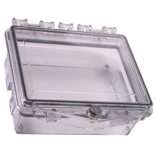 STI-7510D STI POLYCARBONATE ENCLOSURE WITH OPEN CONDUIT BACK BOX FOR SURFACE MT APPLICATIONS AND EXTERIOR KEYLOCK ************************* SPECIAL ORDER ITEM NO RETURNS OR SUBJECT TO RESTOCK FEE *************************