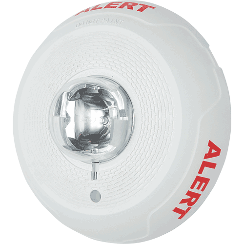 SCWL-CLR-ALERT SYSTEM SENSOR STROBE WHITE CEILING CLEAR LENS ALERT ************************** CLEARANCE ITEM- NO RETURNS *****ALL SALES FINAL****** **************************