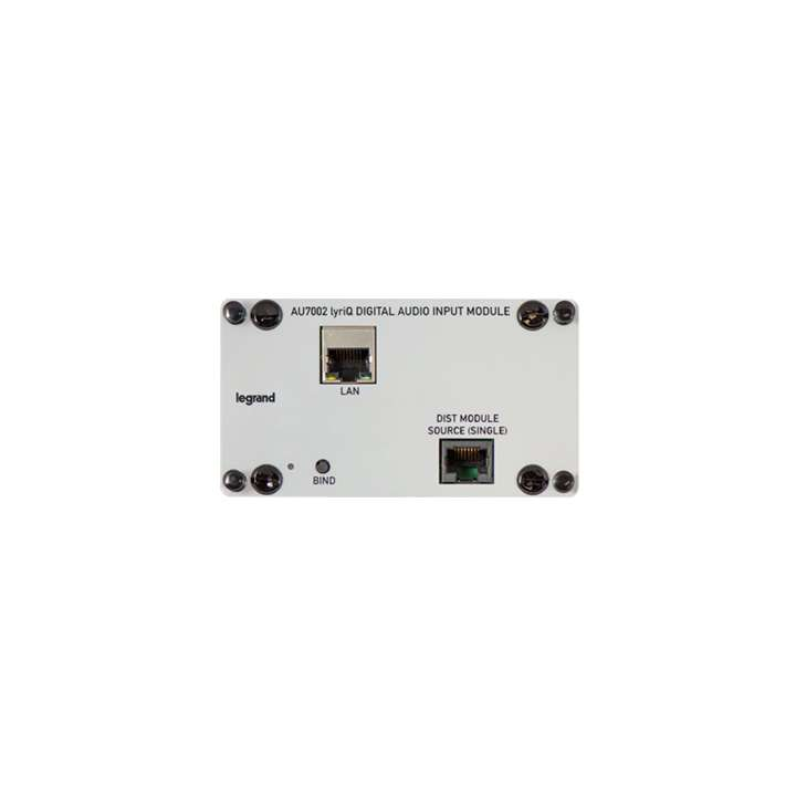 AU7002 ON-Q Legrand LYRIQ Digital Input Module ************************* SPECIAL ORDER ITEM NO RETURNS OR SUBJECT TO RESTOCK FEE *************************