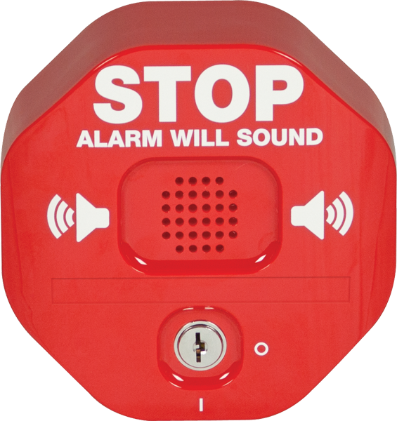 STI-6400 STI EMERGENCY EXIT STOPPER RED
