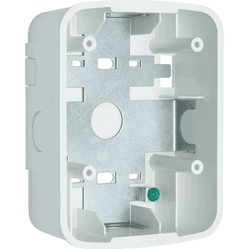 SBBSPWL SYSTEM SENSOR Wall Speaker Surface Mount Back Box, White ************************* SPECIAL ORDER ITEM NO RETURNS OR SUBJECT TO RESTOCK FEE *************************