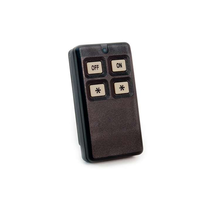 EN1224-ON INOVONICS FOUR BUTTON PENDANT - ON/OFF ************************* SPECIAL ORDER ITEM NO RETURNS OR SUBJECT TO RESTOCK FEE *************************