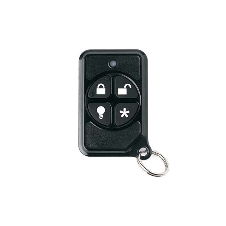 NX-470 UTC SAW 4-BUTTON KEYCHAIN TOUCHPAD PROVIDES PORTABLE CONTROL OF THE SECURITY SYSTEM. LED CONFIRMS RF TRANSMISSION. RECESSED BUTTONS HELP PREVENT FALSE ALARMS. LIGHT CONTROL CAPABILITY. INCLUDES BATTERY ************************* SPECIAL ORDER ITEM NO RETURNS OR SUBJECT TO RESTOCK FEE *************************