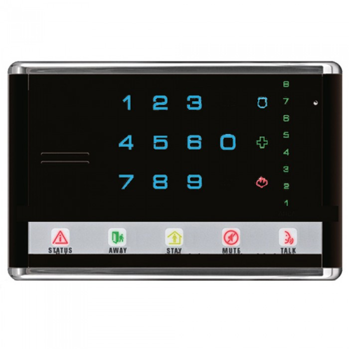 NX-1814E UTC NETWORX ADVANCED TOUCH LED KEYPAD LANDSCAPE BLACK ************************* SPECIAL ORDER ITEM NO RETURNS OR SUBJECT TO RESTOCK FEE *************************