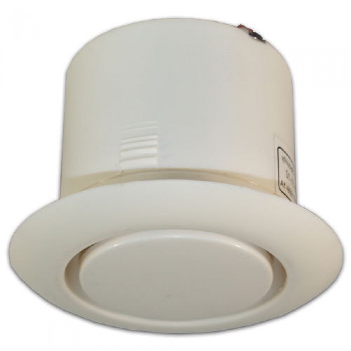 "MPI-47C UTC PIEZO SIREN, SCREAMER W/ROUND FACEPLATE, CEILING MOUNT, 2"" DIAMETER, 3"" DIAMETER. 6 - 13.8VDC OUTPUT. CURRENT DRAW 175 MA. UP TO 106DB OUTPUT, WHITE ************************* SPECIAL ORDER ITEM NO RETURNS OR SUBJECT TO RESTOCK FEE *************************"