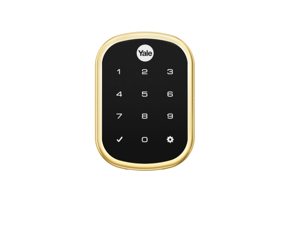 YRD256ZW2-605 YALE Touchscreen Z-Wave-Key Free DB BRIGHT BRASS-PVD ************************* SPECIAL ORDER ITEM NO RETURNS OR SUBJECT TO RESTOCK FEE *************************