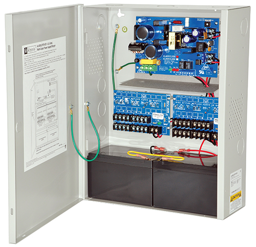 AL400ULXPD16CB ALTRONIX UL LISTED FIRE, BURG, ACCESS CONTROL POWER SUPPLY IN LARGE ENCLOSURE 12/24VDC W/2 PD8CB INSTALLED ************************* SPECIAL ORDER ITEM NO RETURNS OR SUBJECT TO RESTOCK FEE *************************