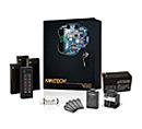 SK-SE-1M-RDR KANTECH Starter kit includes: KT-1-M, Entrapass Special Edition USB key, P225XSF reader (1), P40KEY Keyfob (5), Transformer 120V / 16 VAC 40 VA, 12 VDC Power supply and Battery (KT-BATT-12). (KT-BATT-12). ************************* SPECIAL ORDER ITEM NO RETURNS OR SUBJECT TO RESTOCK FEE *************************