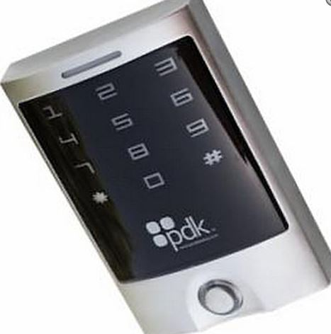 PP-08-RDR-GR PDK Ruggedized Single Gang Touchscreen Keypad Reader, Wiegand, HID Compatible ************************* SPECIAL ORDER ITEM NO RETURNS OR SUBJECT TO RESTOCK FEE *************************