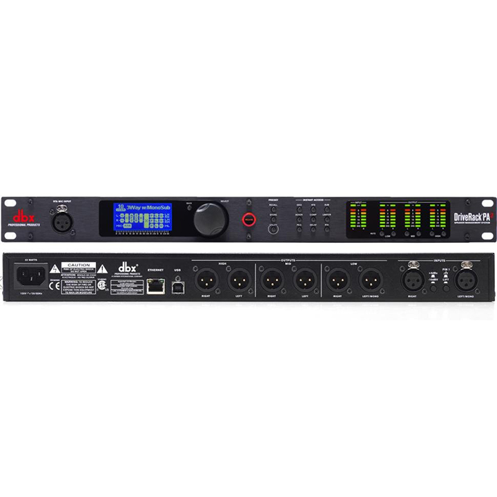 DBX-PA2 2X6 PA MANAGEMENT SYSTEM ************************* SPECIAL ORDER ITEM NO RETURNS OR SUBJECT TO RESTOCK FEE *************************