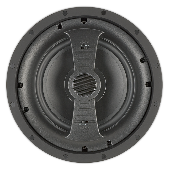 "VM-815 RBH VISAGE SERIES 8"" ROUND IN CEILING, 1"" TWEETER ************************* SPECIAL ORDER ITEM NO RETURNS OR SUBJECT TO RESTOCK FEE *************************"