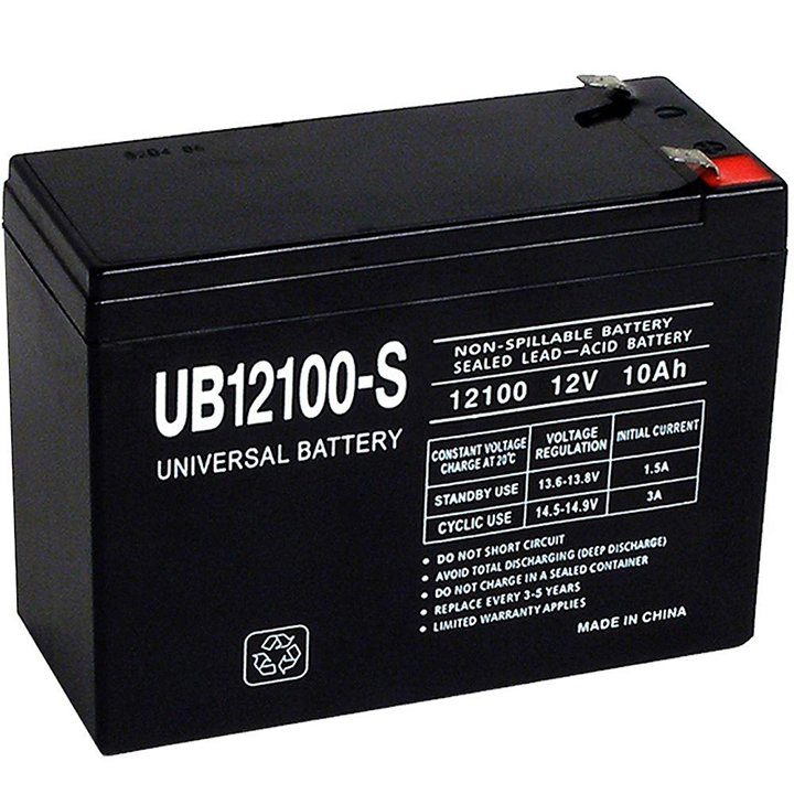 UB12100-S UPG # D5719 12V 10AH LEAD ACID UNIVERSAL BATTERY ************************* SPECIAL ORDER ITEM NO RETURNS OR SUBJECT TO RESTOCK FEE *************************