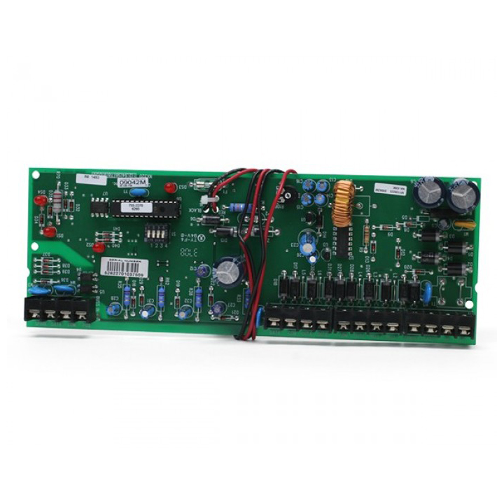 NX-320E UTC SMART POWER SUPPLY ADN BUS EXTENDER REMOTE POWER SUPPLY. 3 PROGRAMMABLE OUTPUTS AND 1 DEDICATED BELL OUTPUT. ALLOWS A LONGER DATA BUS WIRE RUN AND GIVES MORE POWER TO THE PANEL (PANEL LIMITS APPLY)