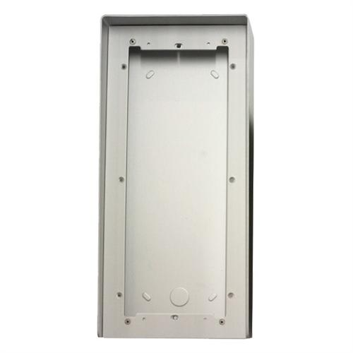 31163 COMLITE housing (aluminum) w/ rain shield (surface) 3 Module - Powercom/iKall series ************************* SPECIAL ORDER ITEM NO RETURNS OR SUBJECT TO RESTOCK FEE *************************