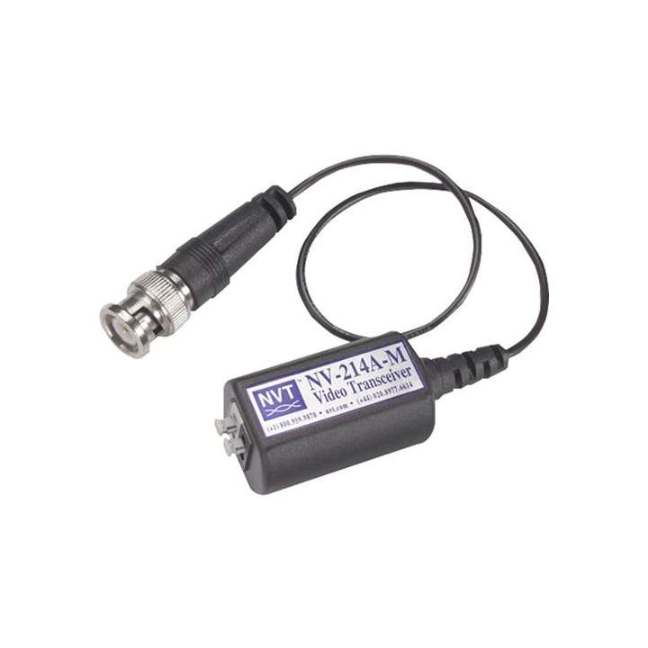 NV-214A-M NVT VIDEO BALUN TRANSCEIVER UP TO 1,000 FEET, MALE BNC CONNECTOR