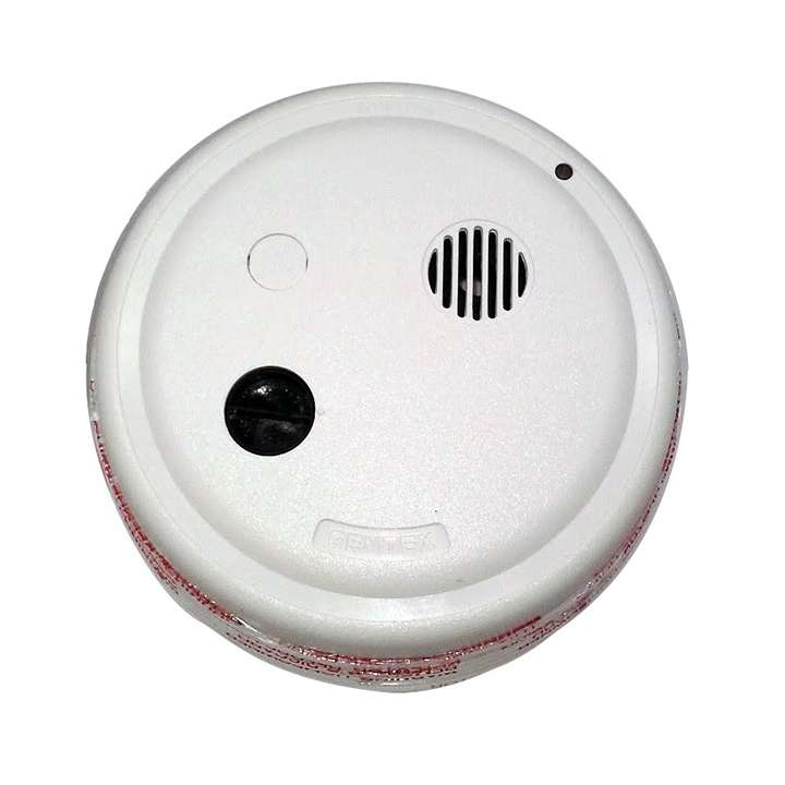8243PY GENTEX 24VDC 4-WIRE PHOTO SMOKE DETECTOR WITH 90DB HORN TMP3 & NO LATCHING CIRCUIT ************************* SPECIAL ORDER ITEM NO RETURNS OR SUBJECT TO RESTOCK FEE *************************