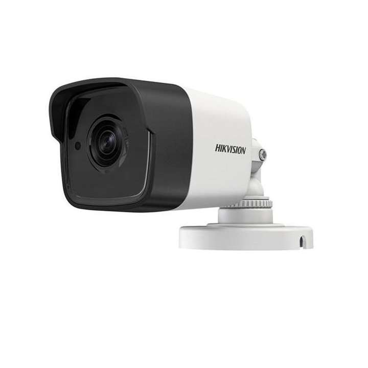 DS-2CE16H5T-ITE6MM Hikvision Outdoor IR Bullet TurboHD 4.0 HD-TVI 5MP 6mm 20m EXIR 2.0 Day/Night True WDR Smart IR PoC IP67 12 VDC