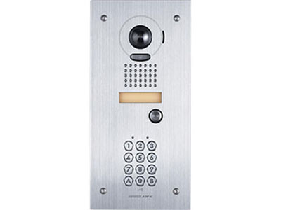 JK-DVF-AC AIPHONE WIDE ANGLE DIGITAL PAN TILT AND ZOOM VIDEO DOOR STATION WITH AN EMBEDDED ACCESS KEYPAD, STAINLESS STEEL, FLUSH MOUNT ************************* SPECIAL ORDER ITEM NO RETURNS OR SUBJECT TO RESTOCK FEE *************************