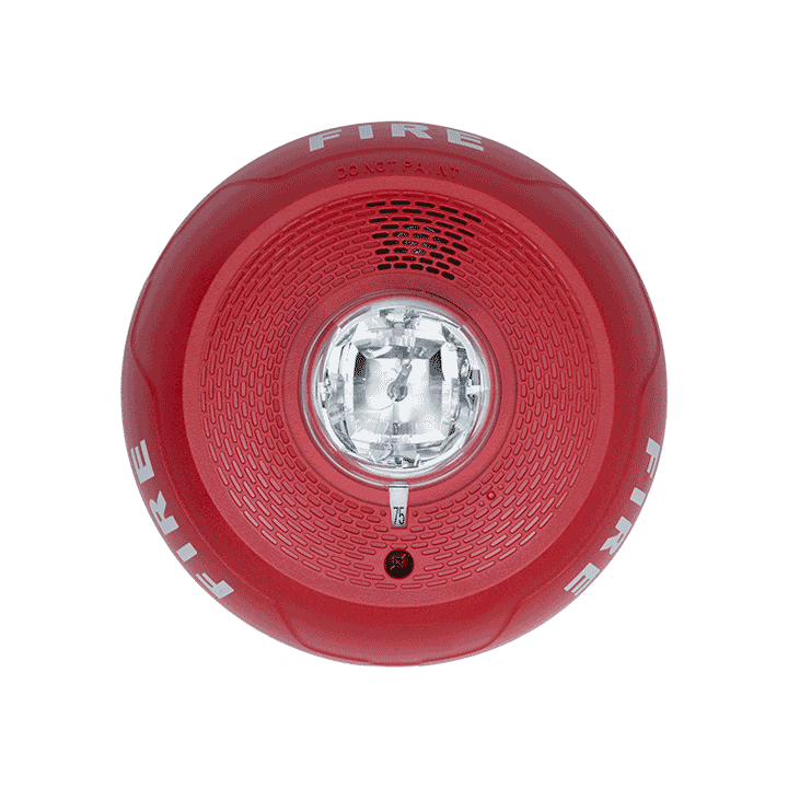 PC4RL SYSTEM SENSOR 4-WIRE RED CEILING HORN STROBE ************************* SPECIAL ORDER ITEM NO RETURNS OR SUBJECT TO RESTOCK FEE *************************