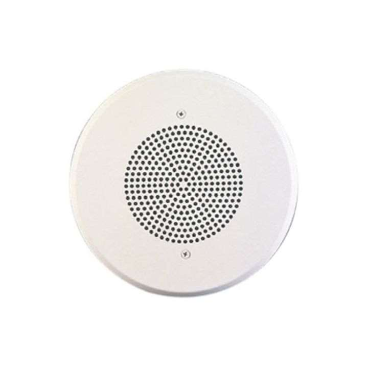 "WHST-C8V WHEELOCK #4871 8"" SPEAKER WITH 25/70/ 100V 4 WATT TRANSFORMER W/RECESSED VOLUME CONTROL FLUSH MOUNT ************************* SPECIAL ORDER ITEM NO RETURNS OR SUBJECT TO RESTOCK FEE *************************"