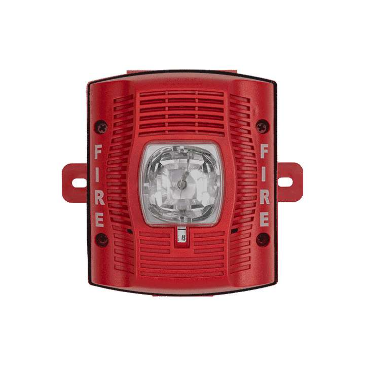 SPSRK SYSTEM SENSOR OUTDOOR SELECTABLE OUTPUT SPEAKER STROBE AND DUAL VOLTAGE EVACUATION SPEAKER