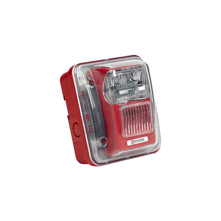 HS-24WR-WP POTTER OUTDOOR RATED HORN STROBE RED 24V ************************* SPECIAL ORDER ITEM NO RETURNS OR SUBJECT TO RESTOCK FEE *************************