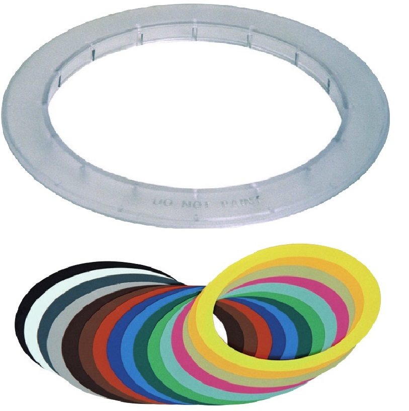 FAA-500-TR-P BOSCH TRIM RING; TRANSPARENT W/COLOR RINGS ************************* SPECIAL ORDER ITEM NO RETURNS OR SUBJECT TO RESTOCK FEE *************************