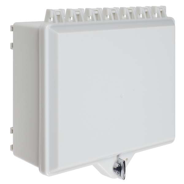 STI-7521-OW STI NEMA4X POLYCARBONATE ENCLOSURE W/ BACKPLATE AND THUMBLOCK -WHITE-FOR USE W/ 5860R ************************* SPECIAL ORDER ITEM NO RETURNS OR SUBJECT TO RESTOCK FEE *************************