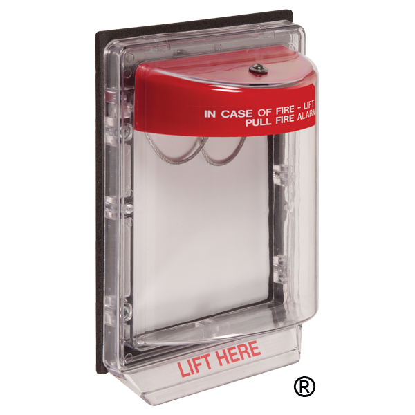 STI-1250 STI WEATHER STOPPER WITHOUT HORN FLUSH MOUNT - RED HORH HOUSING ************************* SPECIAL ORDER ITEM NO RETURNS OR SUBJECT TO RESTOCK FEE *************************