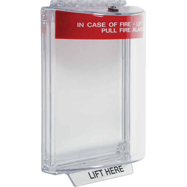 STI-13020FR STI Universal Stopper Dome Cover w/Fl Mt, Horn, Red Housing, Fire Label ************************* SPECIAL ORDER ITEM NO RETURNS OR SUBJECT TO RESTOCK FEE *************************