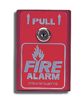 FLBG-8 FIRE-LITE MANUAL PULL STATION SINGLE ACTION ALUMINUM SPST ************************* SPECIAL ORDER ITEM NO RETURNS OR SUBJECT TO RESTOCK FEE *************************